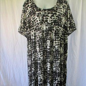 Ulla Popken Plus Sz Dress Jersey Knit 32/34W
